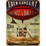 Grafika-00612 Affiche pour Eden-concert , 1884