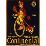 Grafika-00613 Affiche pour Les Pneus de Vélo Continental , 1900