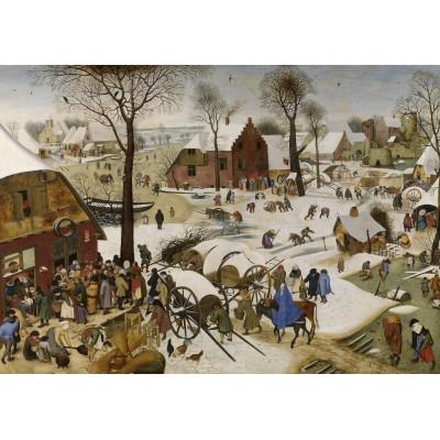 Grafika-00623 Brueghel Pieter : Le dénombrement de Bethléem