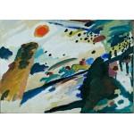 Grafika-00627 Wassily Kandinsky - Romantic Landscape, 1911