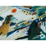 Grafika-00628 Wassily Kandinsky - Romantic Landscape, 1911