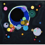 Grafika-00629 Vassily Kandinsky - Several Circles, 1926