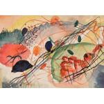 Grafika-00630 Wassily Kandinsky : Aquarell 6, Kunstdrucke auf japanpapier