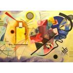Grafika-00631 Vassily Kandinsky - Jaune, Rouge, Bleu, 1925