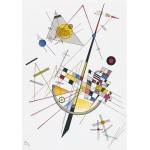 Grafika-00632 Wassily Kandinsky : Delicate Tension, 1923