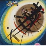 Grafika-00634 Wassily Kandinsky : In the Bright Oval, 1925