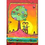 Grafika-00669 Anne Poiré & Patrick Guallino - Arbre à se refléter ensemble
