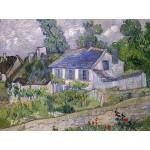 Grafika-00681 Van Gogh Vincent : Maison à Auvers, 1890
