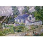 Grafika-00682 Van Gogh Vincent : Maison à Auvers, 1890