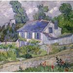 Grafika-00683 Van Gogh Vincent : Maison à Auvers, 1890
