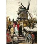 Grafika-00685 Van Gogh Vincent : Le Moulin de Blute-Fin, 1886