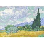 Grafika-00687 Van Gogh Vincent : Champ de Blé avec Cyprès, 1899