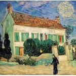 Grafika-00688 Van Gogh Vincent : La Maison Blanche, la Nuit, 1890