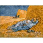 Grafika-00689 Van Gogh Vincent : La Sieste (d'après Millet), 1890