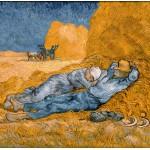 Grafika-00690 Van Gogh Vincent : La Sieste (d'après Millet), 1890