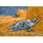 Grafika-00691 Van Gogh Vincent : La Sieste (d'après Millet), 1890