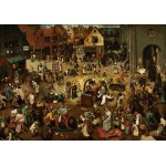 Grafika-00694 Brueghel Pieter : Le Combat de Carnaval et Carême, 1559