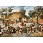 Grafika-00696 Brueghel : Le Repas de Noce, 1568