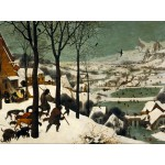 Grafika-00698 Brueghel : Chasseurs dans la neige