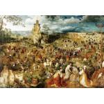 Grafika-00701 Brueghel Pieter : Le Portement de Croix, 1564