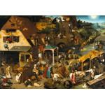 Grafika-00706 Brueghel Pieter : Proverbes Flamands, 1559