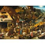 Grafika-00707 Brueghel Pieter : Proverbes Flamands, 1559
