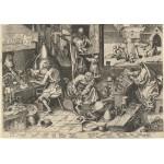 Grafika-00710 Brueghel Pieter : Les Alchimistes, 1558