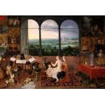 Grafika-00713 Jan Brueghel I & Peter Paul Rubens - Hearing (Museo del Prado)