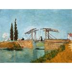 Grafika-00719 Van Gogh Vincent : Pont de Langlois en Arles, 1888