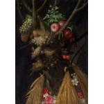 Grafika-00720 Arcimboldo Giuseppe : Quatre Saisons en Une Tête, 1590