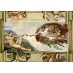 Grafika-00727 Michel Ange : La Création d'Adam de la chapelle Sixtine, 1508-1512