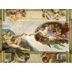 Grafika-00729 Michel Ange : La Création d'Adam de la chapelle Sixtine, 1508-1512