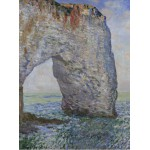 Grafika-00731 Claude Monet : Le Manneporte à Étretat, 1886