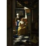 Grafika-00740 Vermeer Johannes : La lettre d'amour, 1669-1670