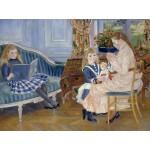 Grafika-00747 Auguste Renoir : L'après-midi des enfants à Wargemont, 1884