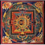 Grafika-00753 Ecole Tibétaine - Mandala d'Amitabha