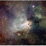 Grafika-00768 Formation Stellaire de la Région Messier 17 prise par VST