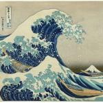Grafika-00772 Katsushika Hokusai : La Grande Vague de Kanagawa, 1826-1833