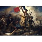 Grafika-00773 Delacroix Eugène : La Liberté Guidant le Peuple, 1830