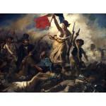 Grafika-00774 Delacroix Eugène : La Liberté Guidant le Peuple, 1830