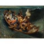 Grafika-00776 Delacroix Eugène : Christ sur la Mer de Galilée, 1841
