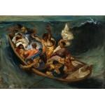 Grafika-00778 Delacroix Eugène : Christ sur la Mer de Galilée, 1841