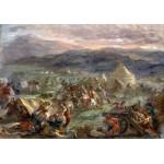 Grafika-00779 Delacroix Eugène : Botzaris surprend le camp des turcs au lever du soleil, 1860-62