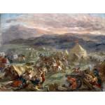 Grafika-00780 Delacroix Eugène : Botzaris surprend le camp des turcs au lever du soleil, 1860-62