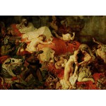 Grafika-00782 Delacroix Eugène : La Mort de Sardanapale, 1827