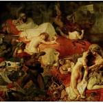 Grafika-00783 Delacroix Eugène : La Mort de Sardanapale, 1827