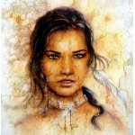 Grafika-00787 Femme Indienne