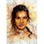 Grafika-00788 Femme Indienne