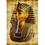 Grafika-00799 Vieux Papyrus Egyptien: Toutankhamon
