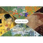 Grafika-00806 Gustav Klimt - Collage
